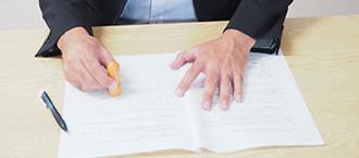 解決時に適切な示談書を作成し、再度の金銭要求を防ぐことができる